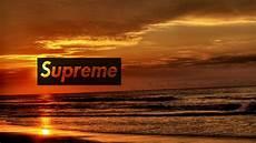 supreme wallpaper for computer supreme sunset wallpaper authenticsupreme