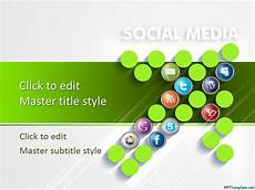 Social Media Ppt Templates Free Social Media Amp Digital Marketing Ppt Template