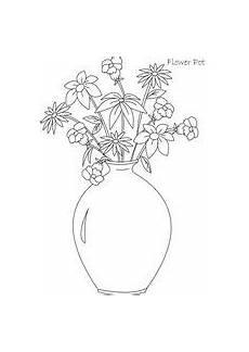 Ausmalbilder Blumenvase Ausmalbilder Blumenvasen1 Blumen Vase Blumenvase