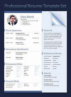 Resume In Doc Resume In Doc Docx Indd Psd Eps And Ai Format By
