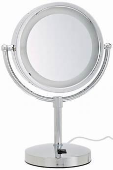 Jerdon Lighted Mirror Amazon Com Jerdon Hl745nc 8 5 Inch Halo Lighted Vanity
