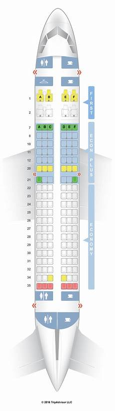 Airbus A319 100 Seating Chart Seatguru Seat Map United Airbus A319 319