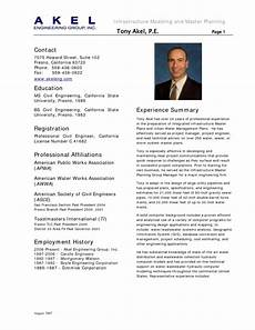 Cv Civil Engineer Resume For Civil Engineer In 2016 2017 Resume 2018