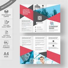 Editable Brochure Templates Tri Fold Brochure Template Free Download Print Ready