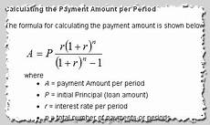 Formula To Amortize A Loan Amortization Calculation Formula And Payment Calculator