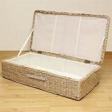 hartleys large bed storage box chest shoes bedding