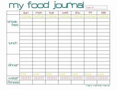 Food Diary Chart Template Free Food Journal Printable Healthy Mama Week 29 Mary