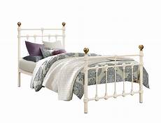 atlas antique brass single 3 0 quot metal bed frame