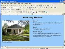Microsoft Word Assistance Creating A Web Page Using Microsoft Word