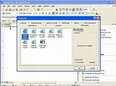 Microsoft Word Web Template Creating A Web Page Using Microsoft Word