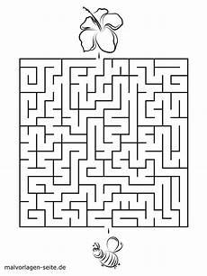 kinder malvorlagen labyrinth kinder zeichnen und ausmalen