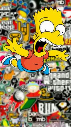 simpsons wallpaper supreme simpsons supreme wallpapers wallpaper cave