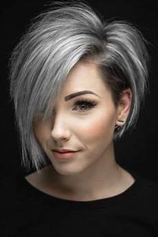 kurzhaarfrisuren graue haare bilder 33 grey hair cuts and styles lovehairstyles