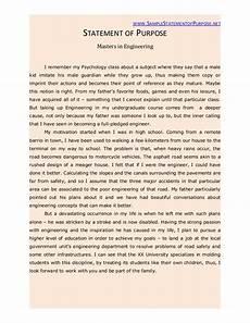 Statement Of Purpose For Grad School Examples Graduate School Statement Of Purpose Sample