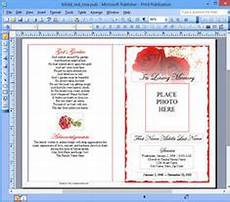 How To Make A Funeral Program 1000 Images About How To Create A Funeral Program On