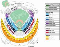Kauffman Stadium Row Chart Kc Royals Detailed Seating Chart Brokeasshome Com