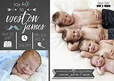 Birth Announcment Birth Announcements Amp Newborn Photography Party Like A