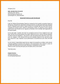 How To Write A Raise Request Letter 7 Request For Salary Increase Sample Letter Technician