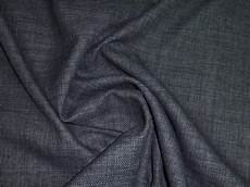 charcoal grey linen style effect upholstery curtain