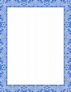 Free Blue Borders Free Pattern Borders Clip Art Page Borders And Vector
