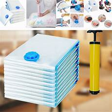 portable roll up compression vacuum storage bags