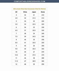 Shoe Number Size Chart Shoe Size Conversion Charts For Men And Women