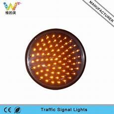 Traffic Light Flasher Module 300mm 12inch Yellow Led Flasher Dc12v Dc24v Traffic Light