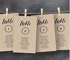 Template For Wedding Table Plan Wedding Seating Chart Template Seating Plan Table Card