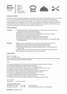 Apprentice Chef Resume Chef Resume Sample Examples Sous Chef Jobs Free