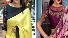 boat neck blouse splicing boat neck blouse design collection 2018 boat neck