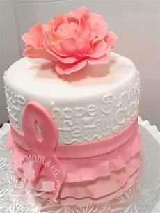 Breast Cancer Cake Designs Pink Ribbon Breast Cancer Survivor Cake Cakecentral Com