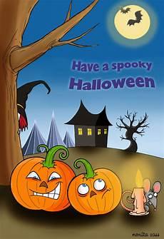 Spooky Halloween Cards Spooky Halloween Halloween Card Free Greetings Island