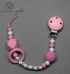 Designer Baby Dummy Clips Aliexpress Com Buy Miyocar Personalized Any Name Pink
