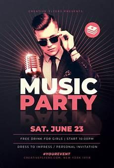Concert Flyer Psd Music Concert Flyer Template For Photoshop Creative Flyers