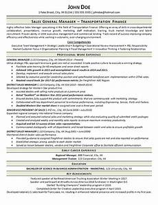Trucking Resume Examples Transportation Resume Example General Manager Trucking