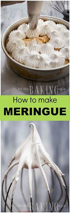 dessert dessert let easy 2 ingredient meringue for baking desserts