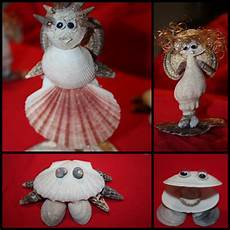 crafts seashell craft seashell sea shell creatures craft