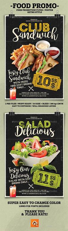 Promotional Flyer Ideas Food Promotion Flyer Poster By Newindustry Graphicriver