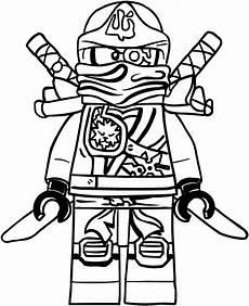 zane of ninjago coloring pages