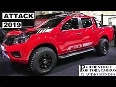 2019 nissan frontier attack nissan frontier attack 2019 muitos detalhes pre 199 o