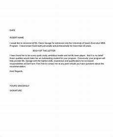 sample letter of recommendation format letter of recommendation format 15 free word pdf