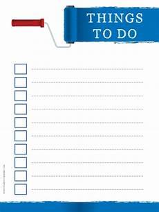 Do Do List To Do List Template