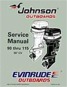 1997 Johnson Evinrude Quot Eu Quot 90 Thru 115 90 Cv Service