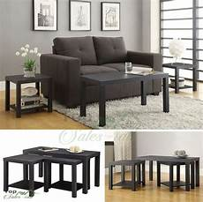Cf Furniture Living Room 3 Set L Table by Coffee Table Set 3 Wood Living Room Furniture Accent