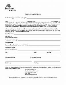 Blank 3rd Party Authorization Form Third Party Authorization Fill Online Printable