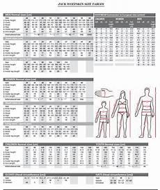 Jack Wolfskin Size Chart Uk Jack Wolfskin Size Guide