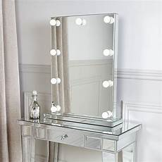 dressing table vanity mirror with 9 dimmable led