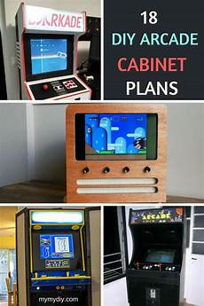 19 fantastic diy arcade cabinet plans list mymydiy