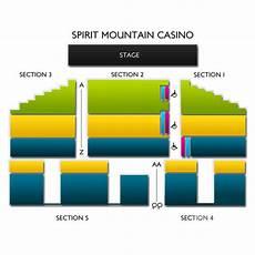 Spirit Mountain Casino Seating Chart Spirit Mountain Casino Seating Chart Vivid Seats
