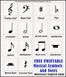 Music Notes And Symbols Chart Introducing Musical Symbols And Notes Learn Music Music